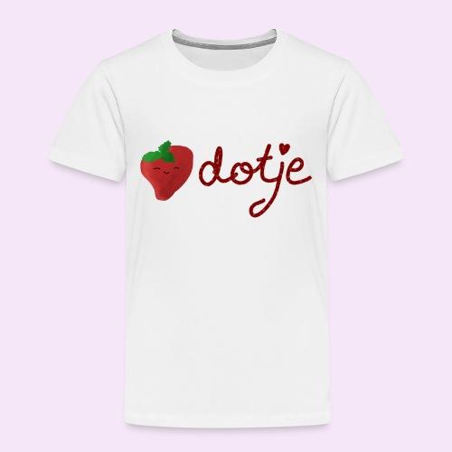 Baby aardbei Dotje - cute - Kinderen Premium T-shirt