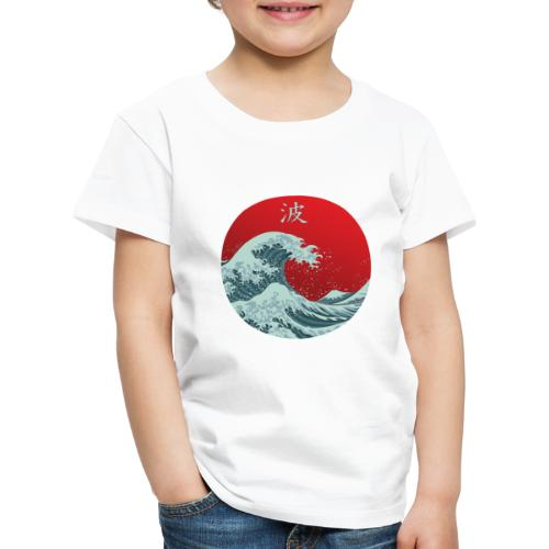 Kanagawa waves - Maglietta Premium per bambini