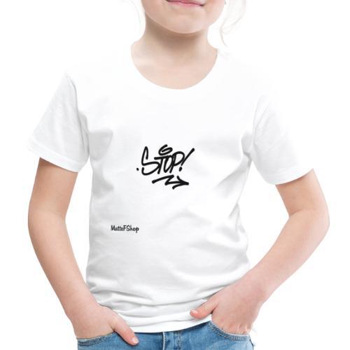 Stop Collection! (MatteFShop Original) - Maglietta Premium per bambini