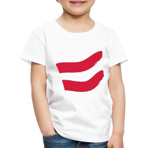 Strawanzer Blasmusik Flag - Kinder Premium T-Shirt