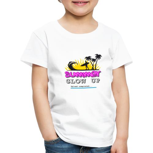 Summer Glow Up - Kinder Premium T-Shirt