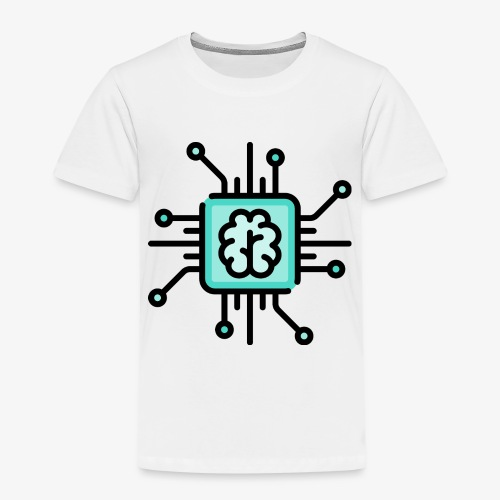 Brain chip - Kids' Premium T-Shirt