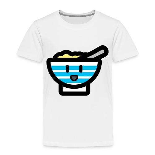 Cute Breakfast Bowl - Kids' Premium T-Shirt