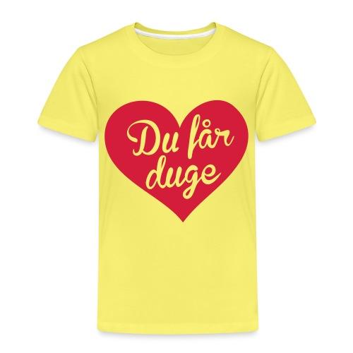 Ekte kjærlighet - Det norske plagg - Premium T-skjorte for barn
