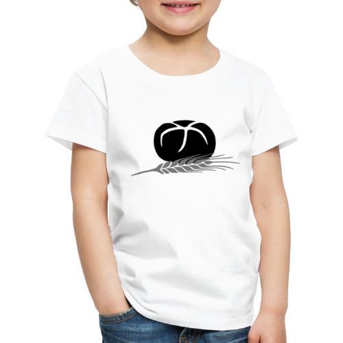 Broetchen Getreide Korn 3 2farbig änderbar - Kinder Premium T-Shirt