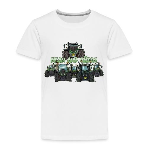 MeanAndGreen6F - Kinderen Premium T-shirt