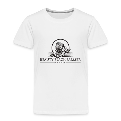 Beauty Black Farmer - Kinder Premium T-Shirt