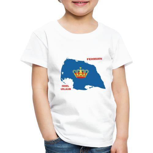 Fehmarn Insel Ostsee Urlaub - Kinder Premium T-Shirt