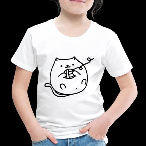 classic fat cat - Kinder Premium T-Shirt