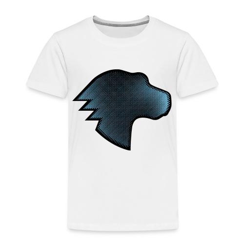 MDN Blue Gradient Dino - Kids' Premium T-Shirt
