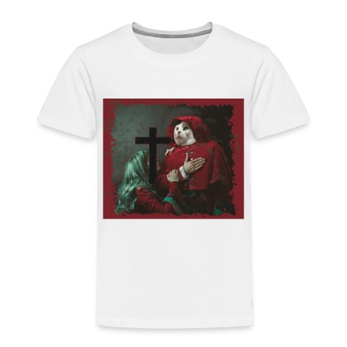 Katzen Inquisitor morbide Darstellung - Kinder Premium T-Shirt