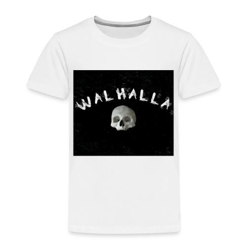 WALHALLA SCULL MOTIV FASHION WIKINGER - Kinder Premium T-Shirt