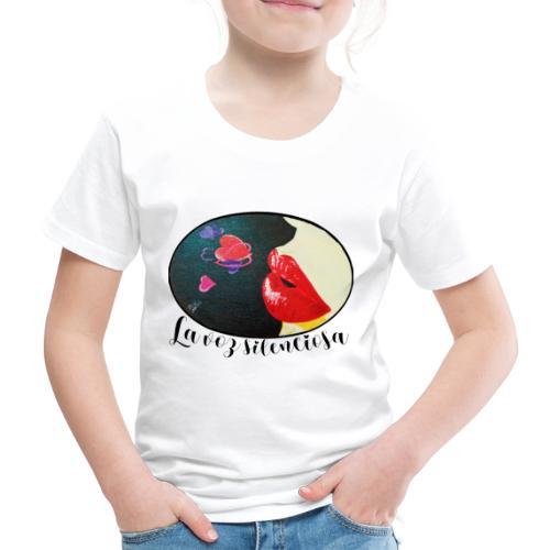 La Voz Silenciosa - Besos - Camiseta premium niño