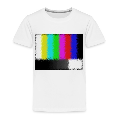Testbild bunte Streifen - Kinder Premium T-Shirt