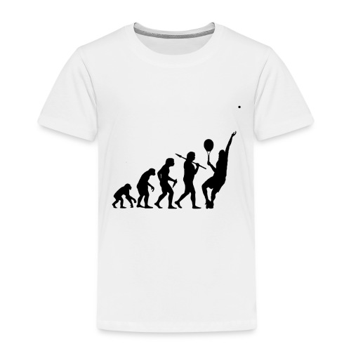 Tennis Evolution - Kids' Premium T-Shirt