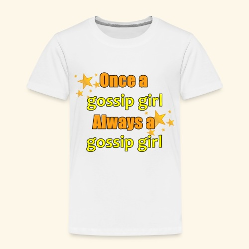Gossip Girl Gossip Girl Shirts - Kids' Premium T-Shirt