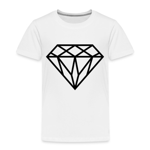 Diamond Graphic // Diamant Grafik - Kinder Premium T-Shirt