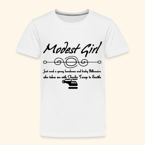 Modest Girl Shirts - Kids' Premium T-Shirt