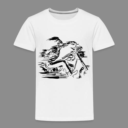 Motorcycle Skull - Camiseta premium niño