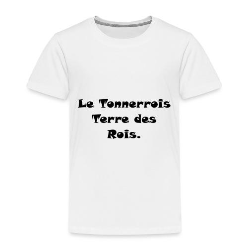 Le Tonnerrois Terre de Rois - T-shirt Premium Enfant