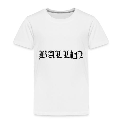 Ballin Black- Tupac Baby Inspired Tattoo - Kids' Premium T-Shirt