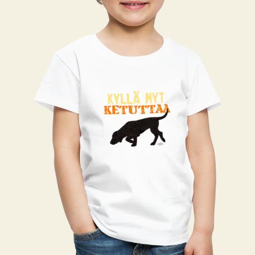 plottiketuttaa - Lasten premium t-paita