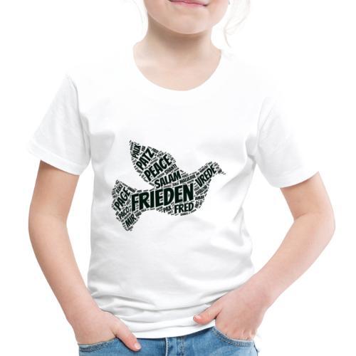 Frieden Taube Peace Pace Mir - Kinder Premium T-Shirt