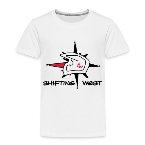 Shifting West Logo vector - Kinderen Premium T-shirt