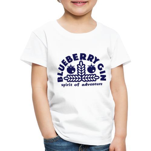 Blueberry Gin - Kids' Premium T-Shirt