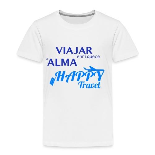 VIAJAR ENRIQUECE EL ALMA - Camiseta premium niño