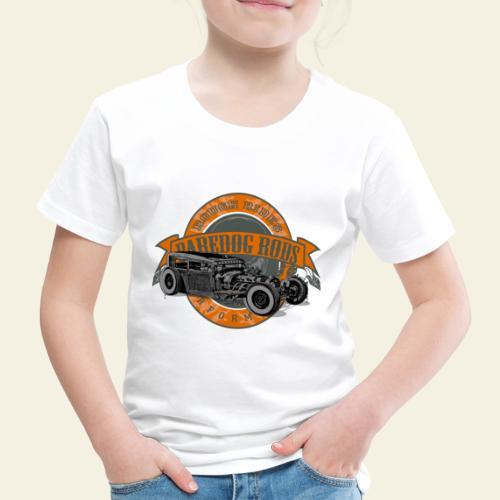 Raredog Rods Logo - Børne premium T-shirt