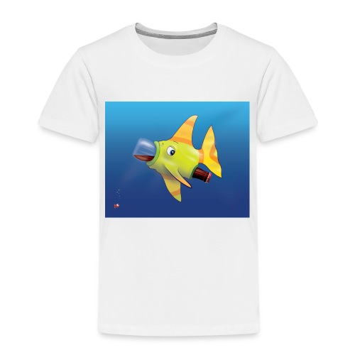Greedy Fish - T-shirt Premium Enfant