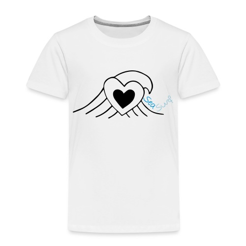 Love Sea Surf - Kinder Premium T-Shirt