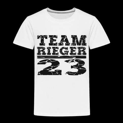 TEAM RIEGER - 23 - Kinder Premium T-Shirt