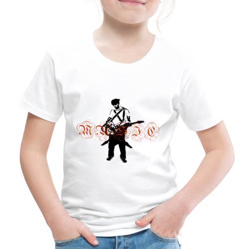Guitarr Musician by Stefan_Lindblad - Kids' Premium T-Shirt