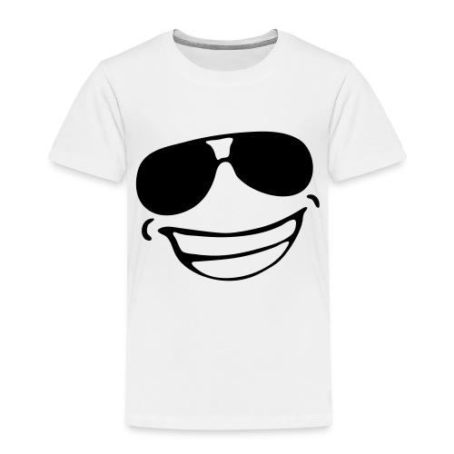 avec des heureux lunettes - T-shirt Premium Enfant