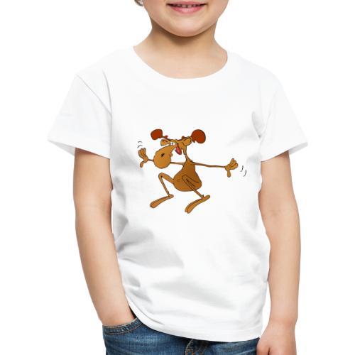 elch huepft - Kinder Premium T-Shirt