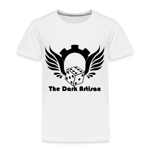Black logo - Kids' Premium T-Shirt