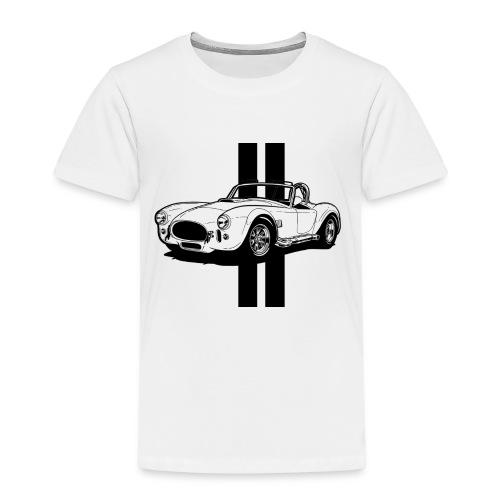 Cobra sur Stripes - T-shirt Premium Enfant