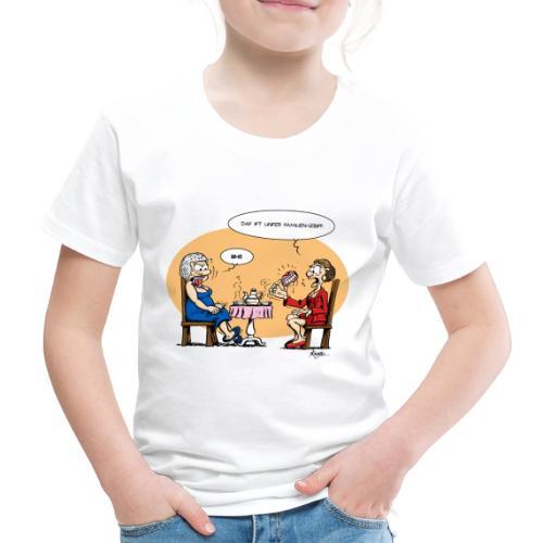 Berta, Anna und das neue Generationengebiss - Kinder Premium T-Shirt
