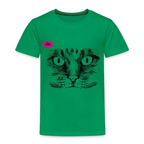 kattegezicht vdh - Kinderen Premium T-shirt