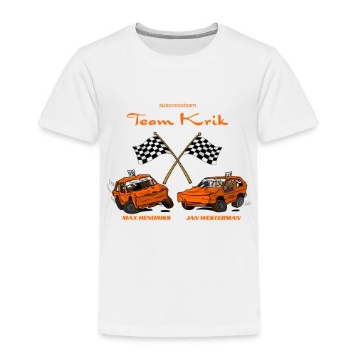 TP 138 TeamKrik definitief def - Kinderen Premium T-shirt