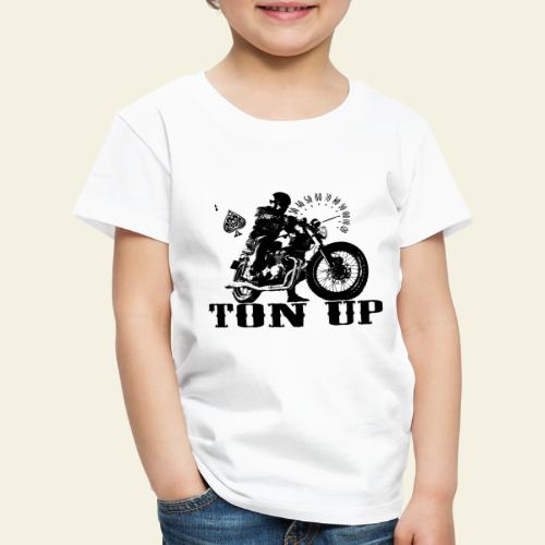 ton up black - Børne premium T-shirt