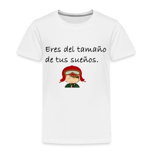 Frase motivadora - Camiseta premium niño