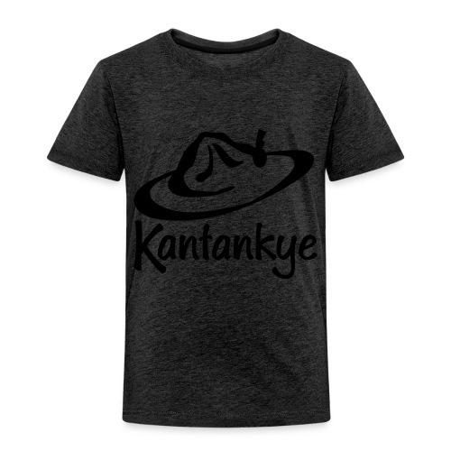 logo hoed naam - Kinderen Premium T-shirt