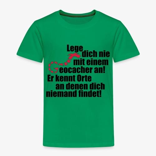Leg' dich nicht mit uns an! - Kinder Premium T-Shirt