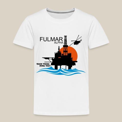 Fulmar Alpha Oil Rig Platform North Sea Aberdeen - Kids' Premium T-Shirt