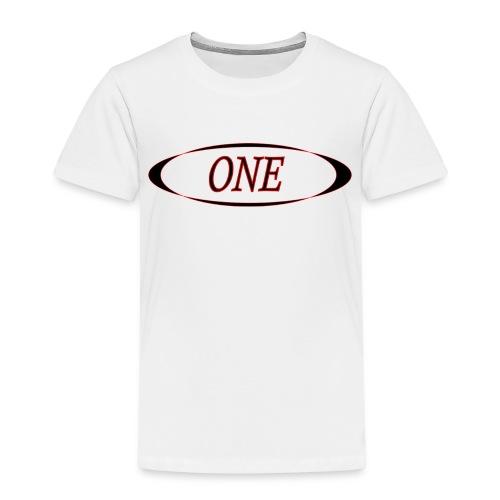 one - T-shirt Premium Enfant