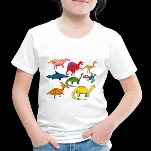 Dinos - Kinder Premium T-Shirt