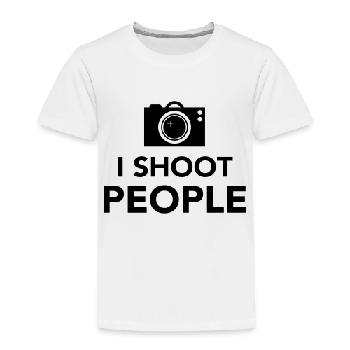 i-shoot-people - Kinderen Premium T-shirt